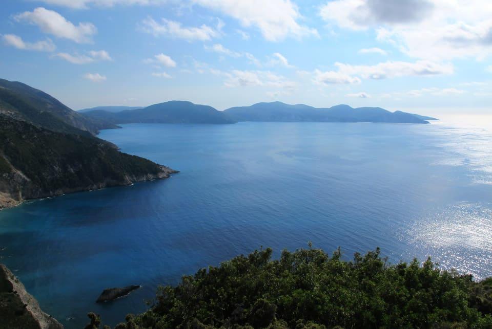 Iles grecques #1 : Road trip en Céphalonie
