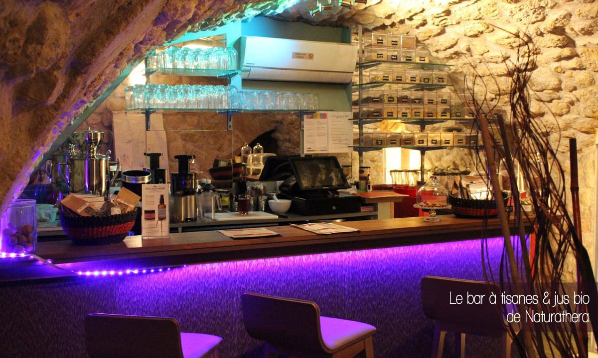 Naturathera, Herboristerie et bar à tisanes