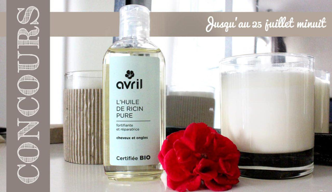 ✨ Concours Instagram ✨ Gagnez une huile de ricin bio