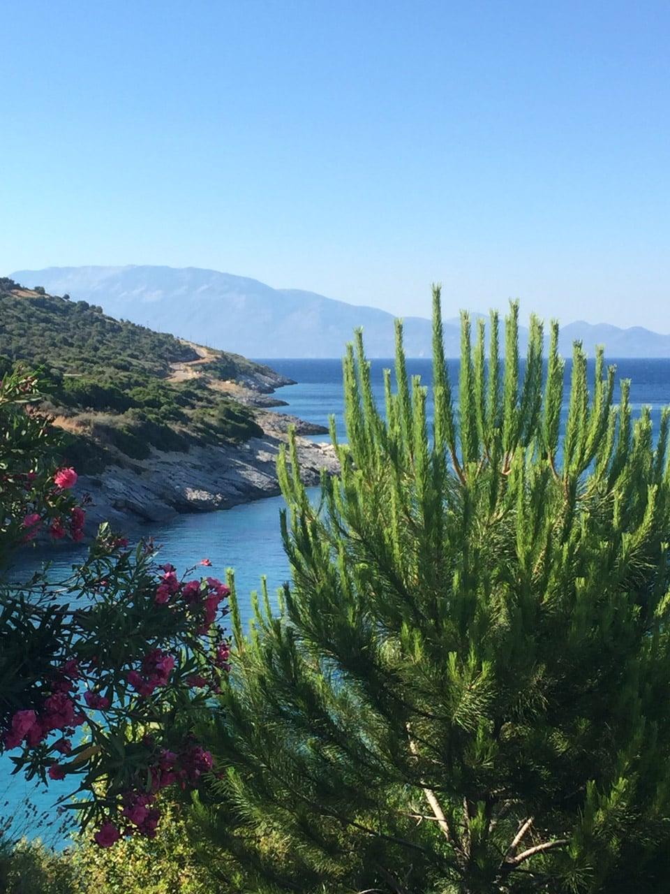 Xigia beach Sejour à Zante par Il etait une veggie