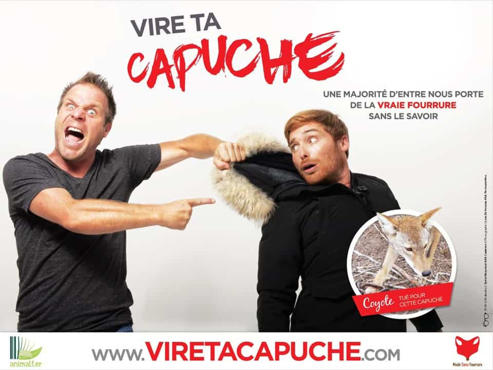campagne mode sans fourrure animale