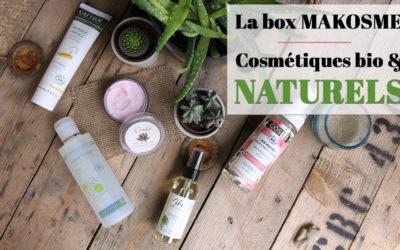 Makosmé nouvelle box beauté bio + Code promo