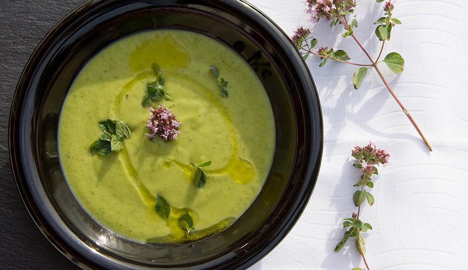 meilleures Recettes soupe veloute de poireaux il etait une veggie