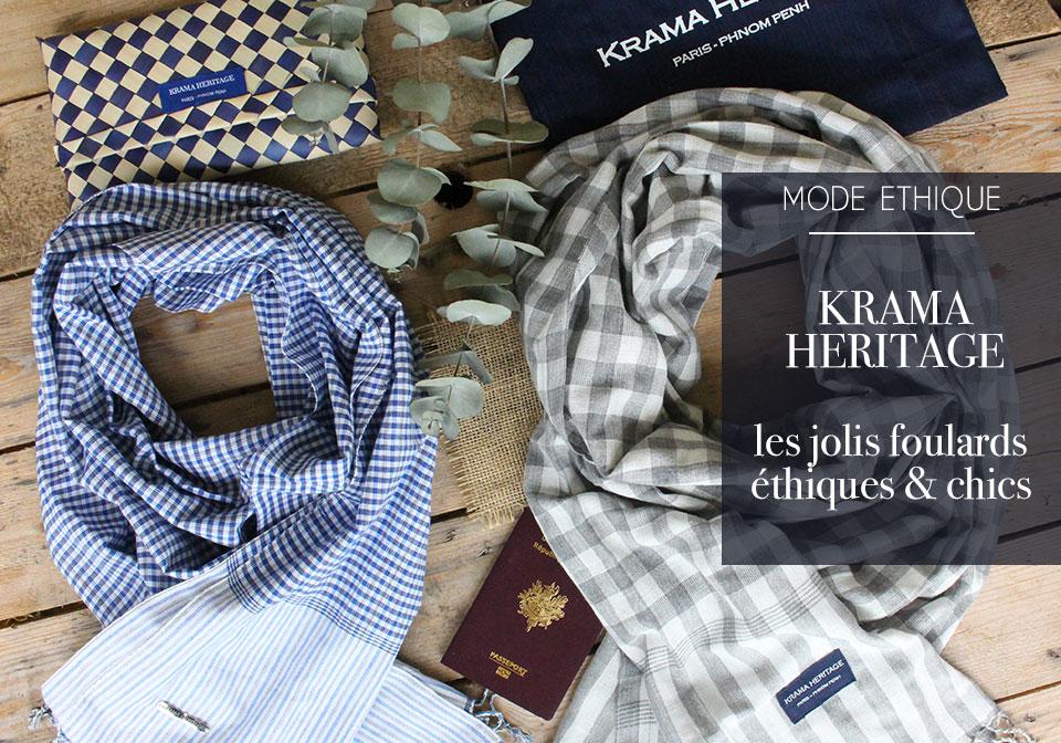 Krama Heritage, foulards éthiques et chics