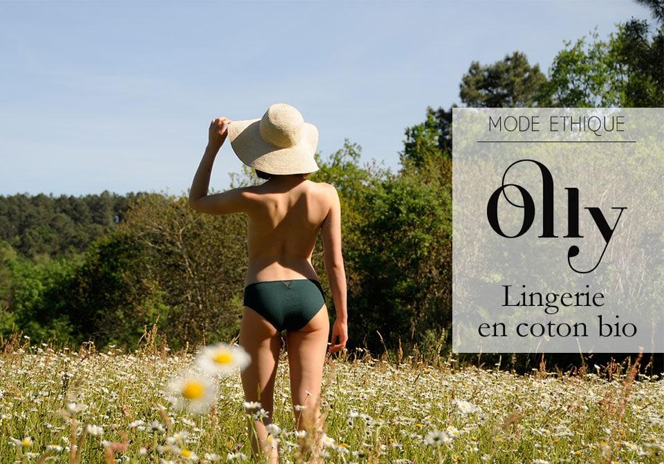 olly lingerie en coton bio mode ethique il etait une veggie