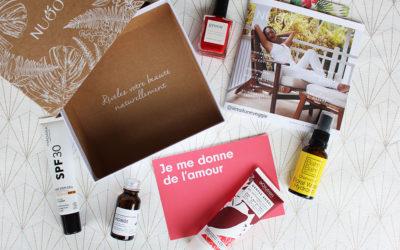 Revue, ITW et avis sur la box beauté bio Nuoo box