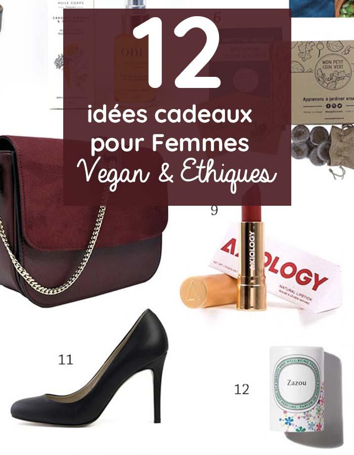 idées cadeaux vegan femmes iletaituneveggie