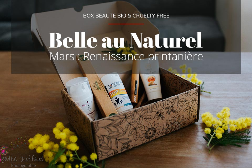 box beauté Belle au naturel par iletaituneveggie
