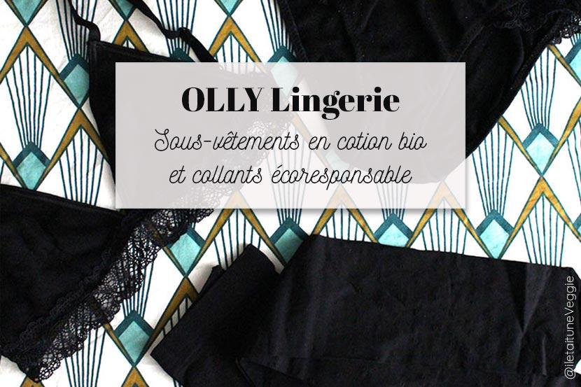 Des collants écoresponsables chez Olly lingerie