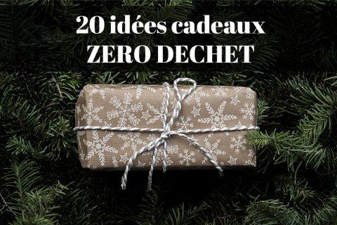 idées cadeaux zéro déchet