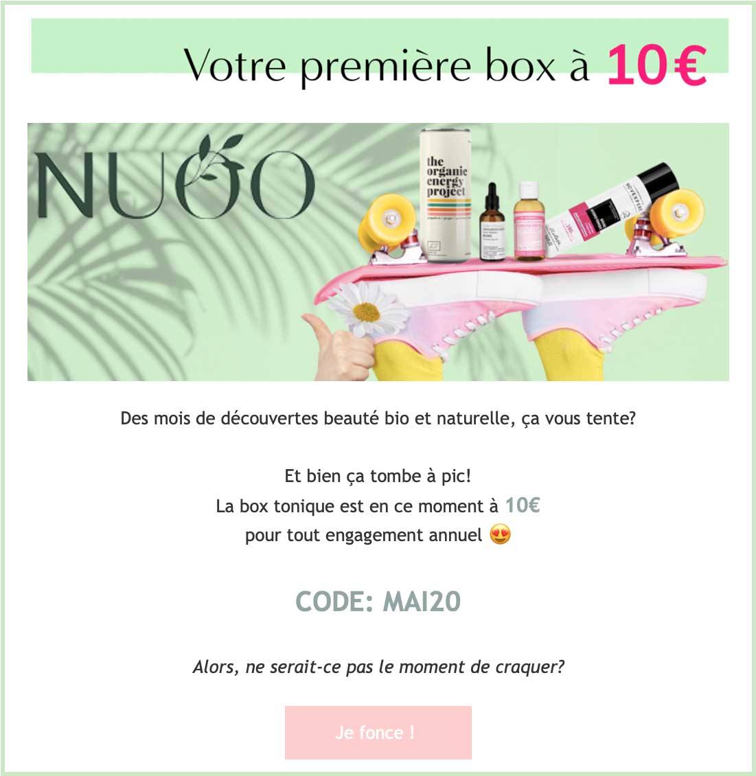 Box beauté bio, CF, Made in France