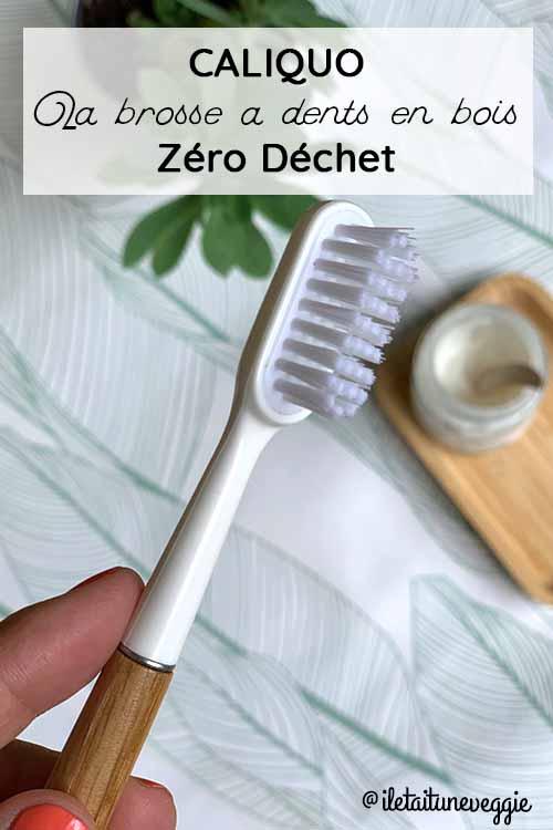Caliquo Brosse à dents zero dechet