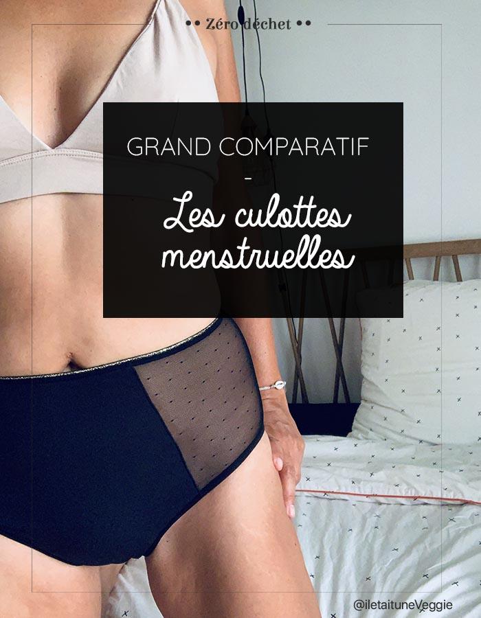 Comparatif culotte menstruelle