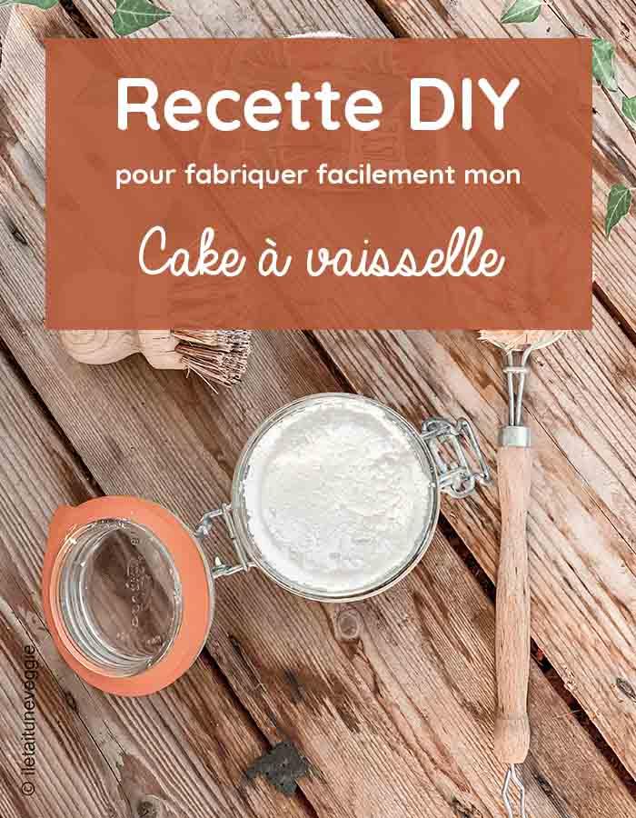 recette maison cake vaisselle ecolo