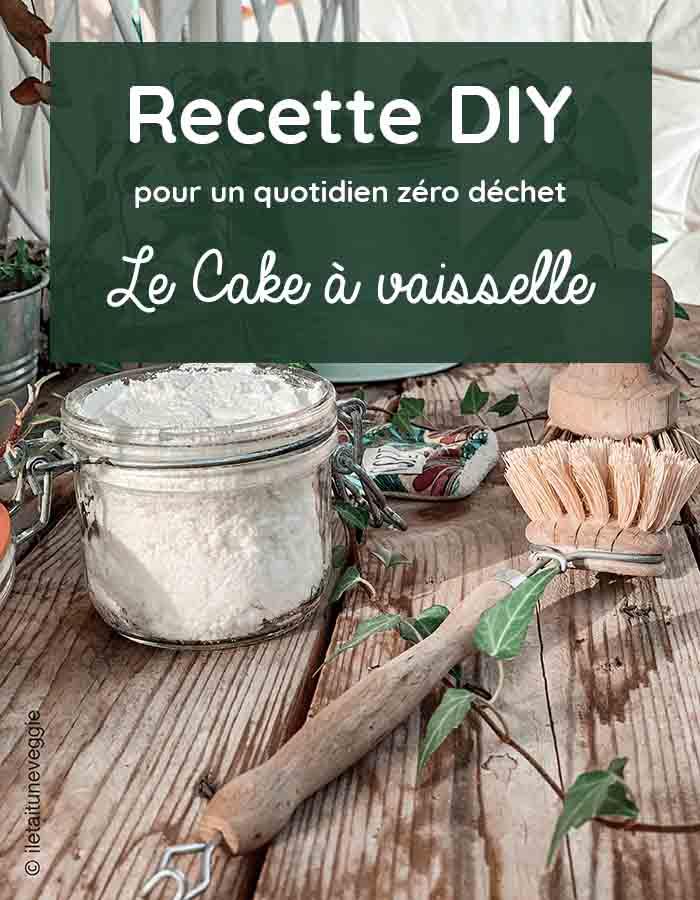 recette DIY cake a vaisselle iletaituneveggie