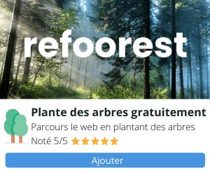 Refoorest Planter des arbres gratuitement