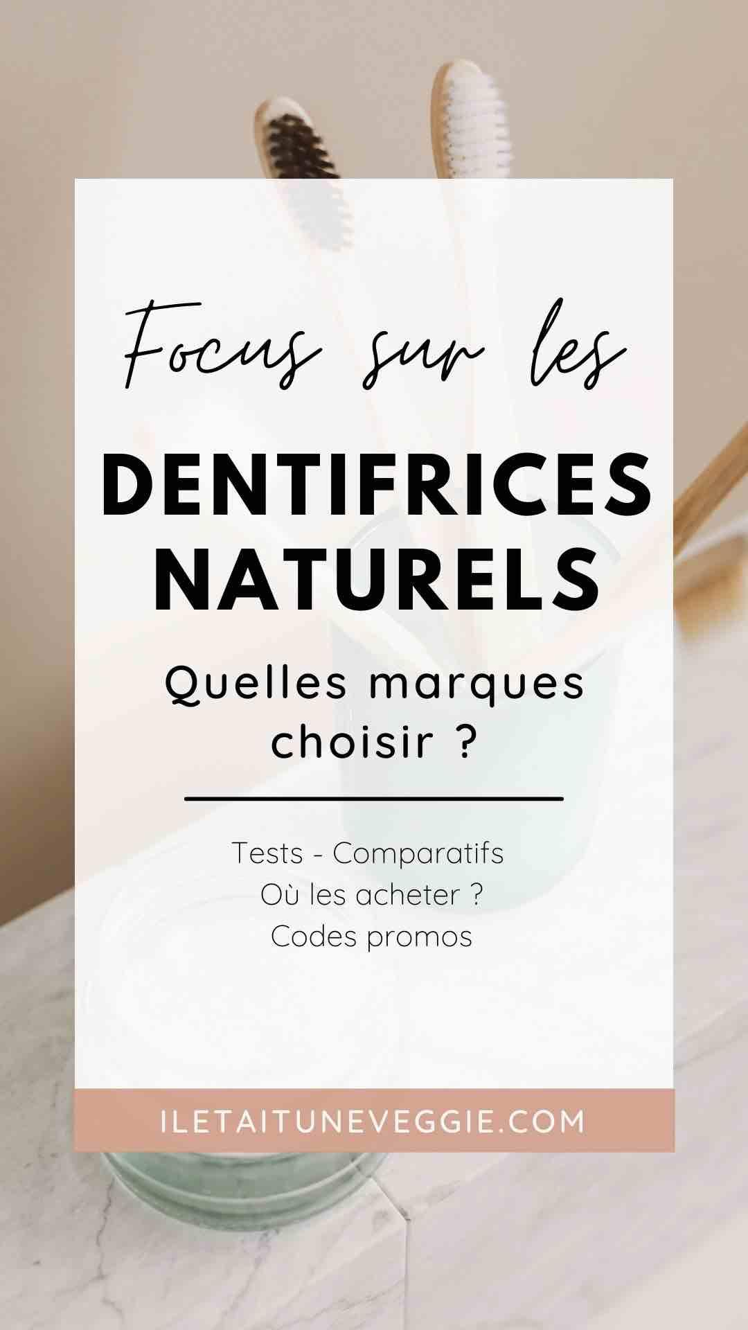 Dentifrices cruelty free et naturels comparatif marques